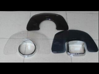 aksesoris flyscreen dan ring lampu/petlamp lx,lxv dan s