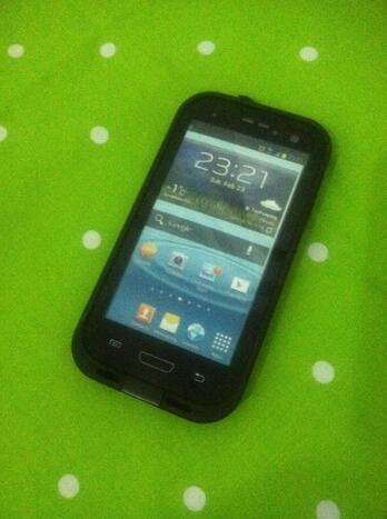 Lifeproof case Samsung Galaxy S3 Second Mulus (baru sekali pake)