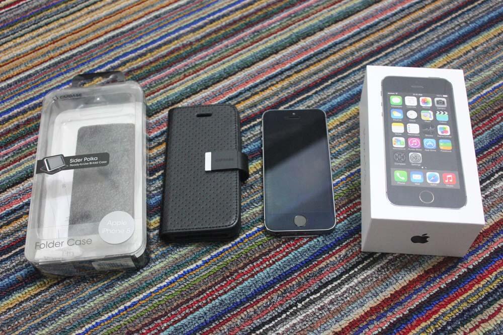 JUAL iPhone 5s 32GB Space Gray / Hitam ( Second ) COD Bandung - Cimahi