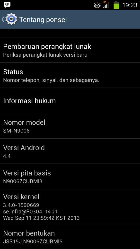 "Jual Replika Samsung Galaxy Note 3 Supercopy 5,7"""