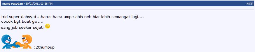 (Sharing-New release) Menjebol Tes Masuk Perusahaan Dgn Tingkat Keberhasilan 99%