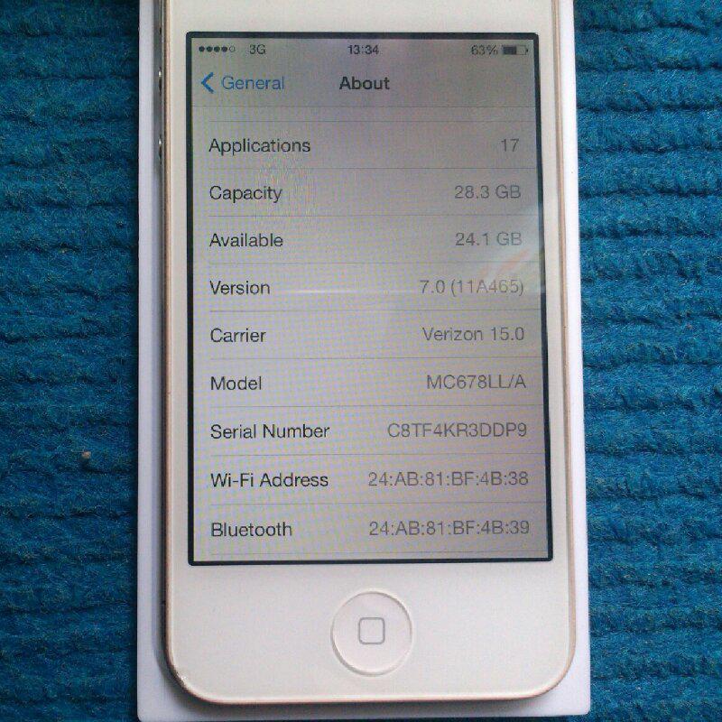 iphone 4 cdma 32gb white fullset fresh (bandung)
