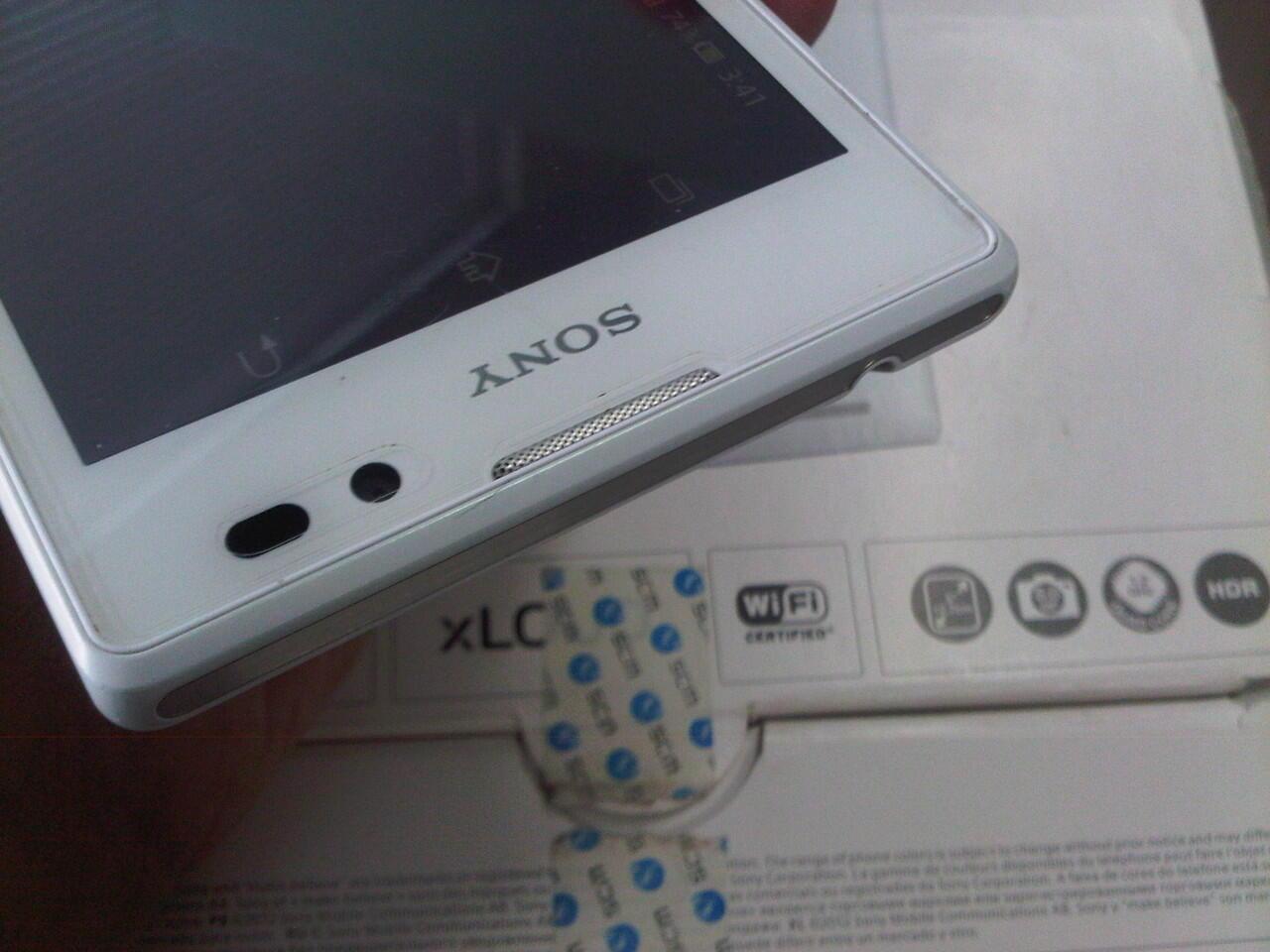 Jual Sony Xperia C C2305 Fullset Mulus Malang