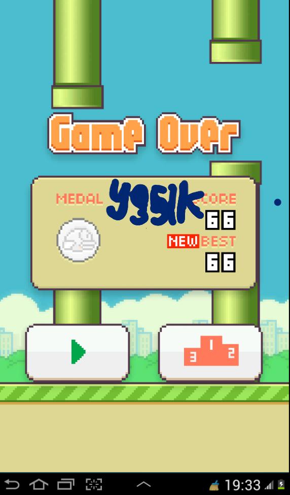 ( share ) Point kamu tertinggi game Flappy Bird disini.
