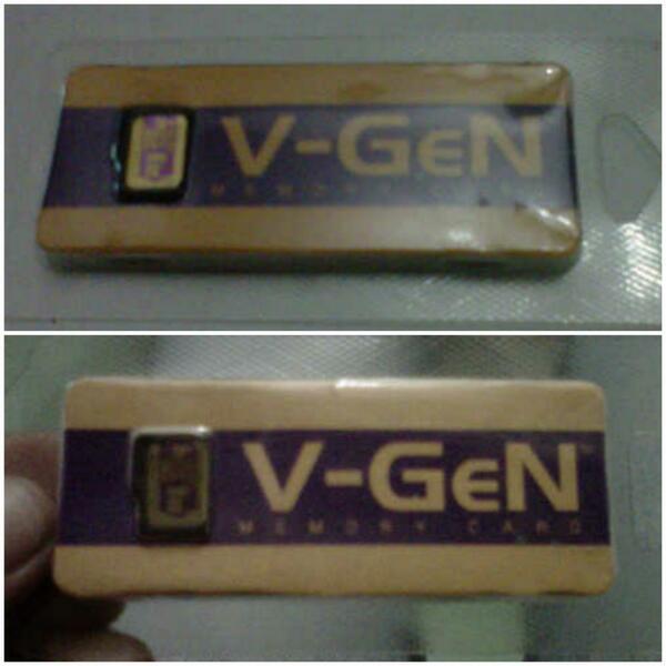 Memory Micro SD V-gen NEW (8GB, 4GB, 2GB) MALANG