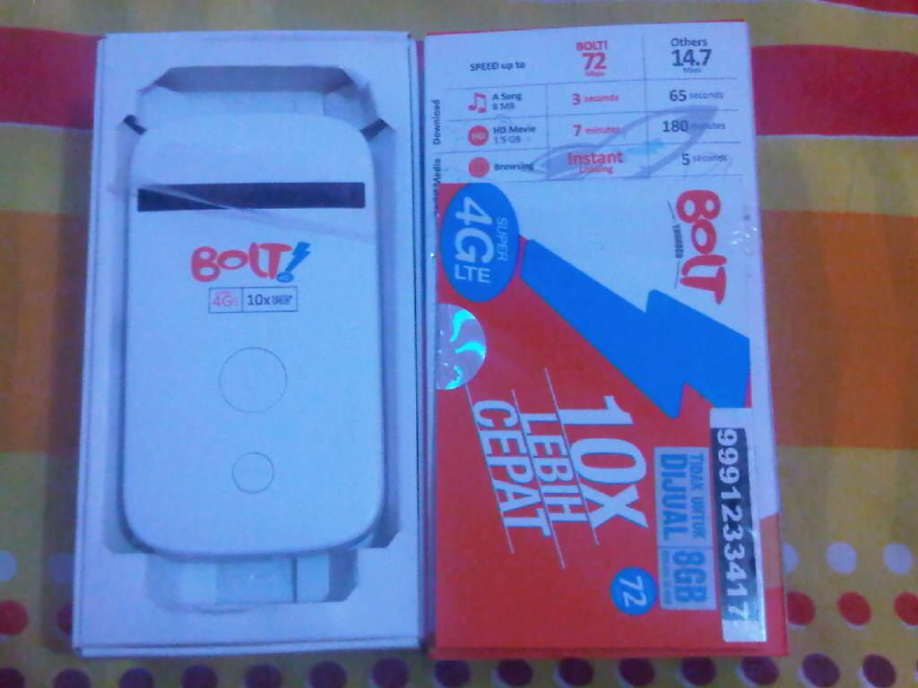 Jual Modem Wifi BOLT 4G LTE MF90