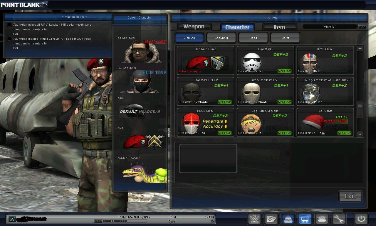 Dijual / Jual Char Point Blank Colonel / Kolonel kutip 1 (Major 3 kutip 1)*Djoko*