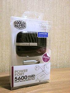 [READY STOCK LIMITED] Power Bank Cooler Master 5600 mah ( HIGH QUALITY )