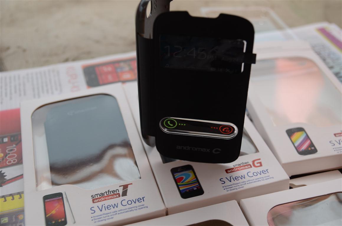 Jual flip cover case advan T1J dan T1F dan andromax G , T ,C