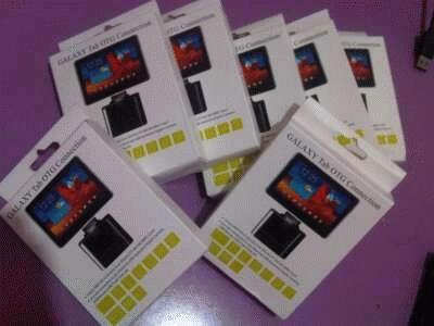Connector Samsung Galaxy Tab USB On The Go (OTG) dan Card Reader Kit All in One