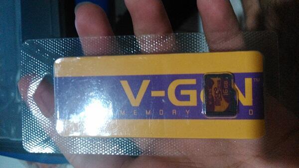 MicroSD VGen 16gb Murah