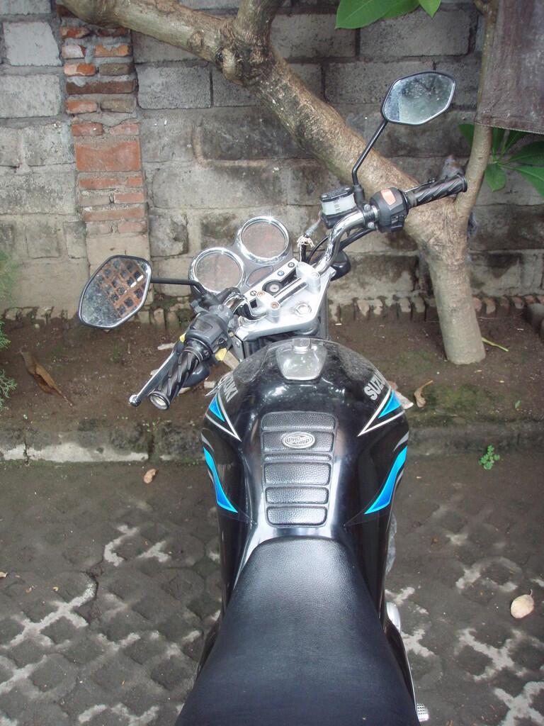 Suzuki Thunder 125cc tahun 2007, 5 jt, posisi di Bali