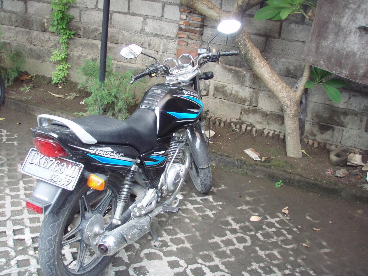 Suzuki Thunder 125cc tahun 2007, 5 jt, STNK baru diperpanjang - Bali