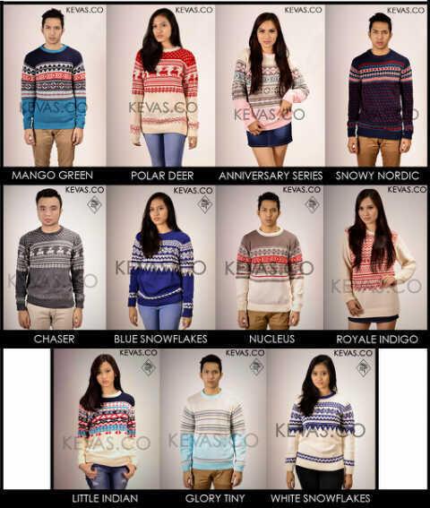[Peluang Reseller/Dropshipper Tanpa Modal] Sweater Rajut Tribal dan Korea Termurah