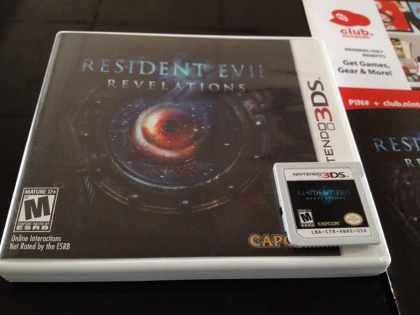 Resident Evil Revelations 3ds