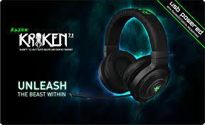 [CYBER] READY Razer Kraken E-panda, Kraken 7.1, Kraken Pro, Razer Electra BNIB