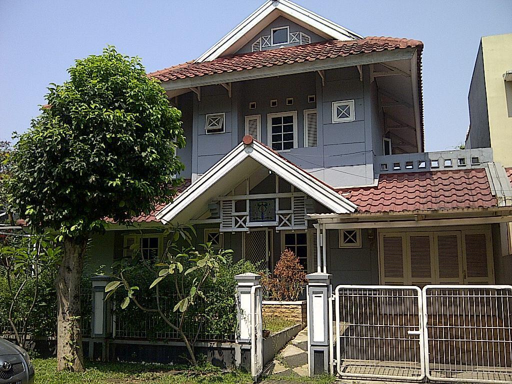 Disewakan rumah di lingkungan asri di BSD City