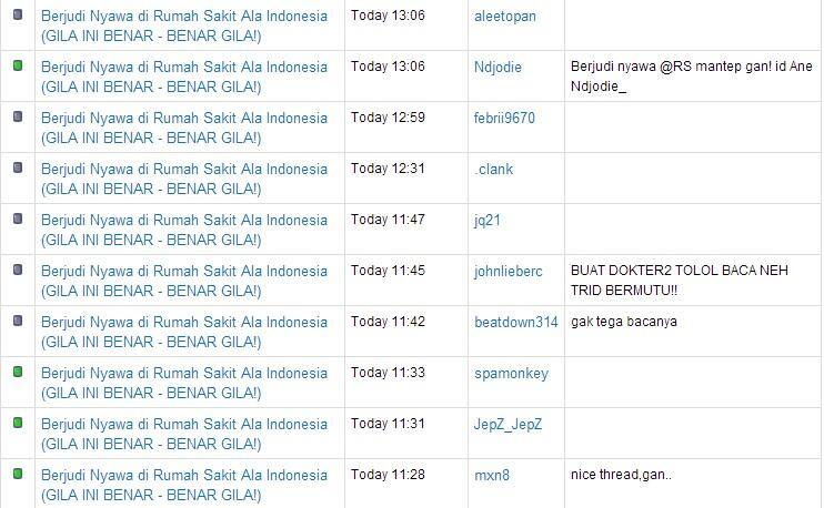 Berjudi Nyawa di Rumah Sakit Ala Indonesia (GILA INI BENAR - BENAR GILA!)