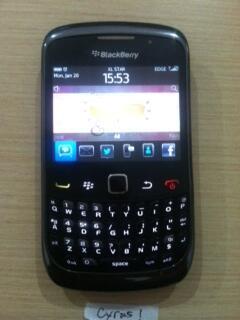 Blackberry 9300 Keppler (Black) Garansi CTN