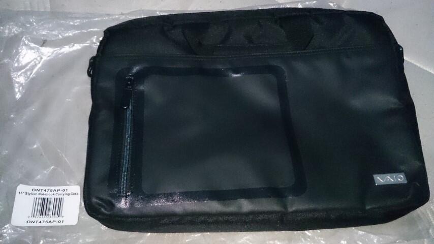 Tas Laptop selempang bawaan laptop Sony