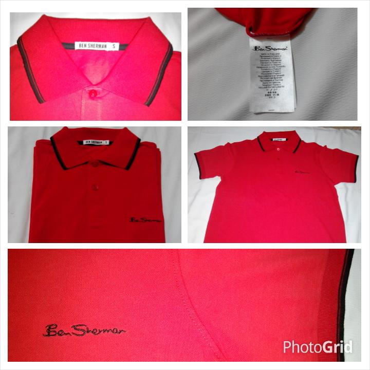 polo shirt ben sherman import masih anget
