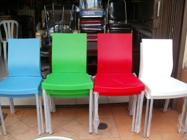 Terjual Kursi Plastik Chairman Kursi Cafe Resto Kursi
