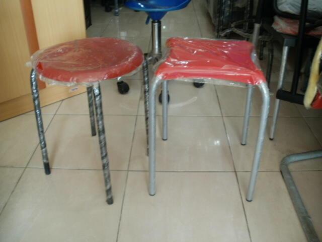 Terjual Kursi Bakso Plastik Kursi Bulat Kursi Plastik