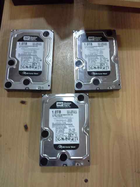 Hardisk Internal WD Black 1TB,SSD Intel 120GB,Like New,No Badsector,Murmer