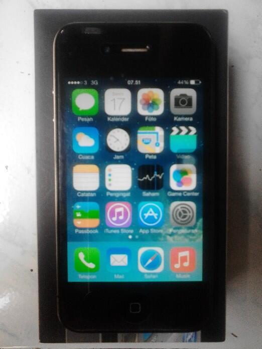 Iphone 4G Black 16GB