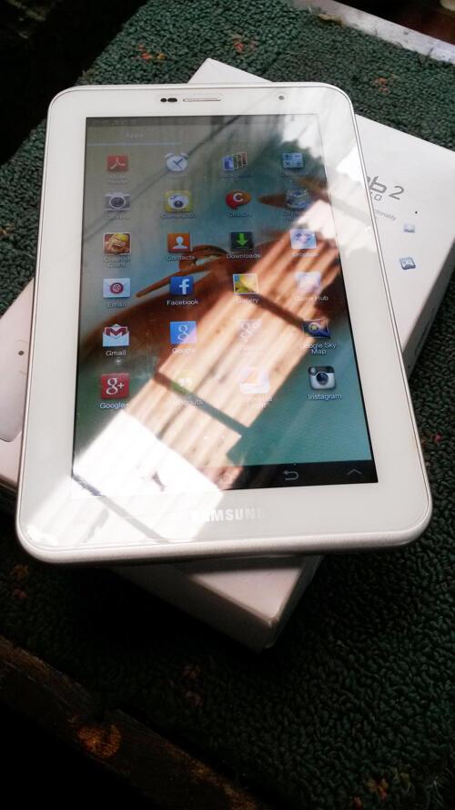 WTS : Samsung Galaxy Tab2 P3100 White Garansi SEIN...