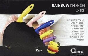 Rainbow Knife (Pisau Serbaguna Warna Warni Stainless steel )