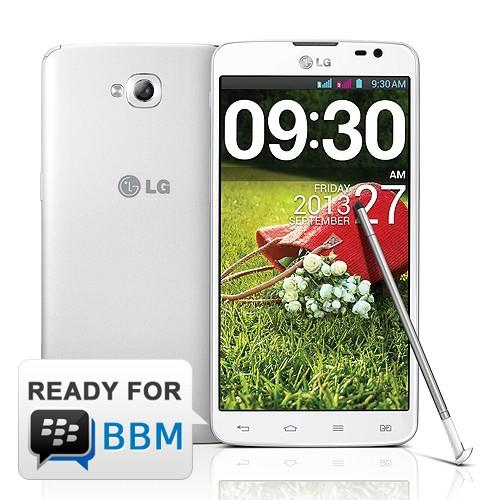 LG G Pro Lite - White | Android 4.1 Jelly Bean, Dual SIM, 5.5 in