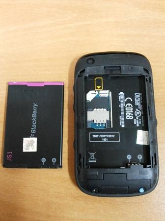 Dijual Blackberry 9220 Davis Hitam .