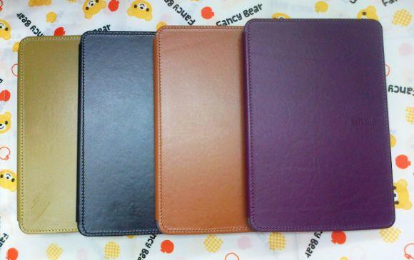 Leather Cover Case Murah untuk Kindle Fire, Fire hdx, sony, kobo nook