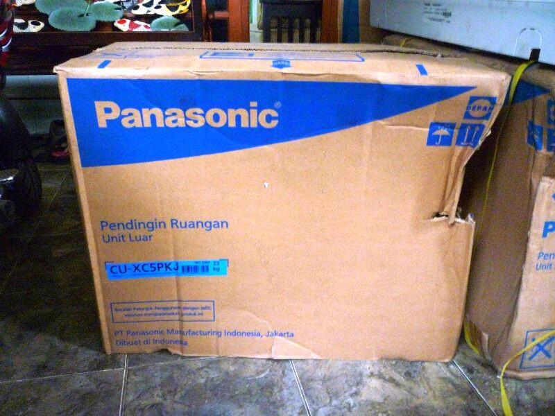 Terjual AC 1 2 PK Panasonic CS XC5PKJ Alowa Econavi