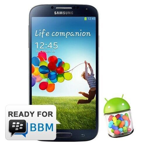 Samsung Galaxy S4 - Black | Android Jelly Bean, 5 inch Super AMO