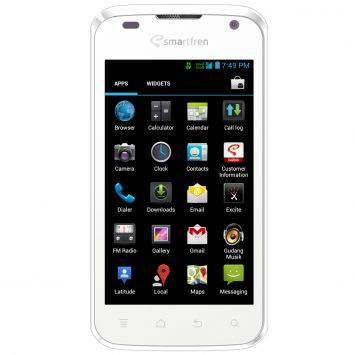 Smartfren Andromax i Jelly Bean - 4 GB - Putih /hitam
