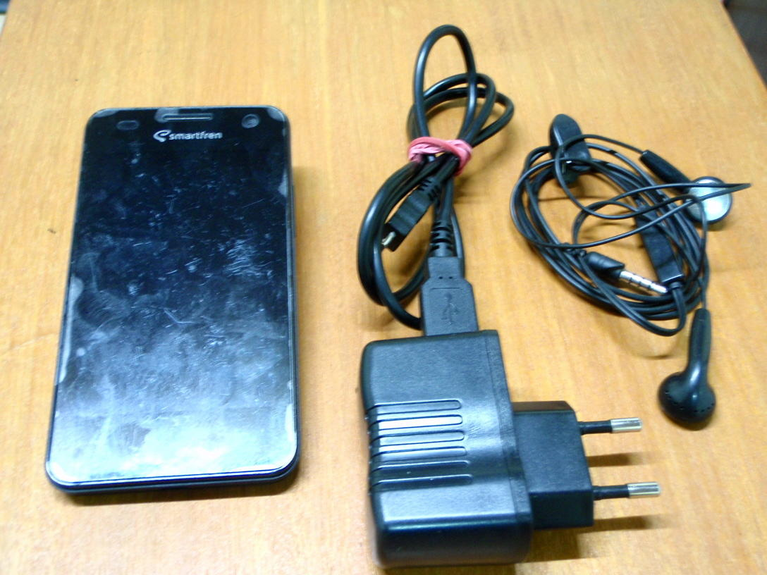 New Andromax i - second - hp, cas, headset