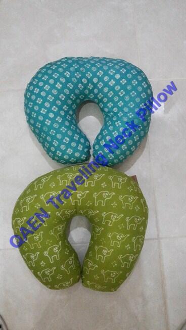QAEN, Neck Travel Pillow (Bantal Mudik)