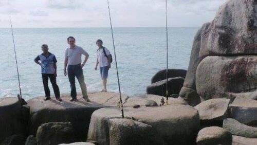 AHOK Pamer Keindahan Pantai Pribadinya di Belitung ke Pejabat DKI & Wartawan