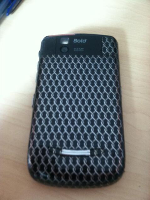 Jual Blackberry 9650 ex garansi wii kondisi 90% bonus skin masih nempel
