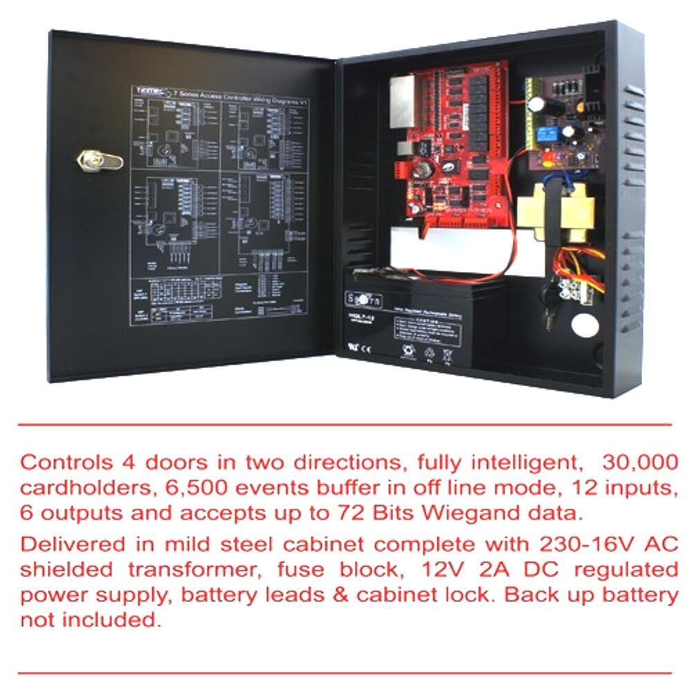 Acces Control Trimec 7-4-8 Panel Controller for 4 pintu