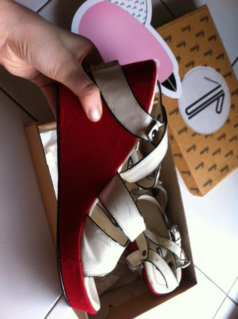WTS iwearUP WEDGES SHOES by DIANA RIKASARI (INDONESIAN FASHION BLOGGER) [SECOND]