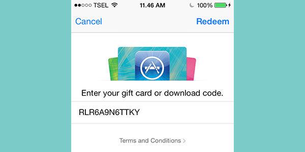 Jual iTunes Gift Card Region Indonesia Murah