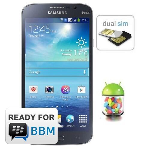 Samsung Galaxy Mega 5.8 inch-Dual SIM-Black