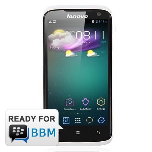 Lenovo S820 - White   Quad-core 1.2 GHz MTK 6589W, Android 4.2 J