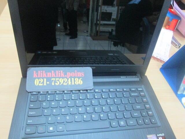 Jual New LENOVO IdeaPad G405S-7577, Black @kliknklikpoins