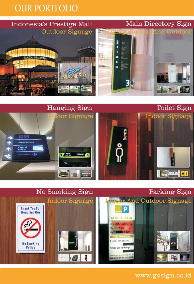 Reklame, Sign, Billboard, Huruf Timbul, Neon Box, Dll | GOSIGN INDONESIA