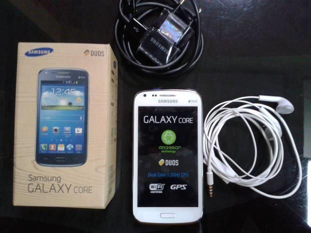 Samsung Galaxy CORE WHITE (Like New)
