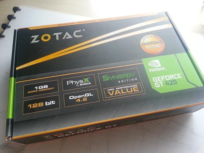 WTS: VGA Zotac GT 420 Synergy Ed 1GB